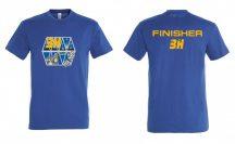 3H - instant futó/túrázó kör Finisher póló