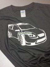 Sport autós gyerek póló