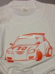 Verseny autós gyerek póló