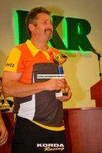 Korda Racing galléros csapat póló férfi