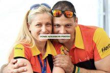 Korda Racing galléros csapat póló női