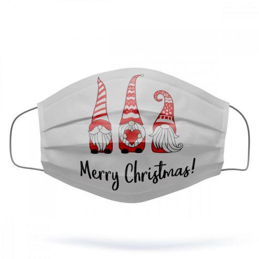 Karácsonyi manó mosható szájmaszk