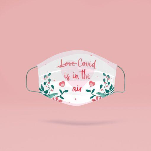 Covid is in the air mosható szájmaszk