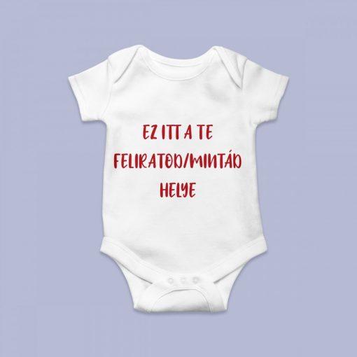 Egyedi mintájú baby body