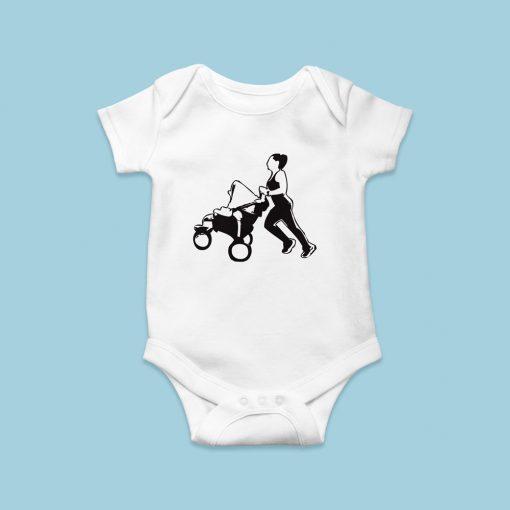 Babakocsis futós baby body