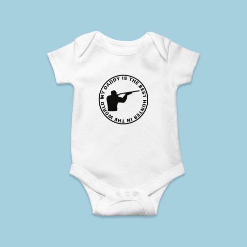 Vadászos baby body