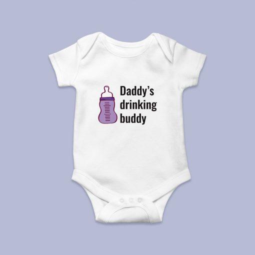 Daddys drinking baby body